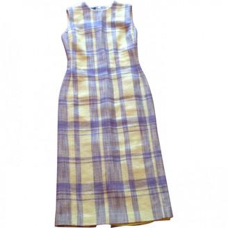 Calvin Klein Yellow Wool Dresses