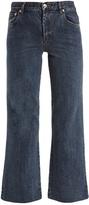 A.P.C. Sailor wide-leg cropped jeans
