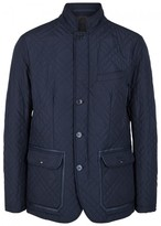 Pal Zileri Navy Quilted Shell Jacket