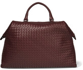 Bottega Veneta Convertible Large Intrecciato Leather Tote - Burgundy