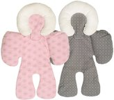 MagiDeal 2 Pieces Comfort Baby Stroller Cushion Pad Car Seat Liners Mat/Soft Blanket Cover