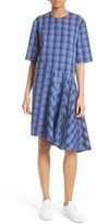 Public School Women's Rima Asymmetrical Plaid Cotton Dress