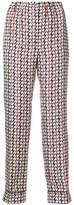Prada patterned trousers