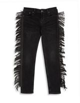 Ralph Lauren Toddler's, Little Girl's & Girl's Faux Leather Fringe Skinny Jeans