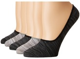 Steve Madden 5-Pack Marl Footie Women's Crew Cut Socks Shoes