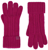 Joules Cableknit Long Gloves