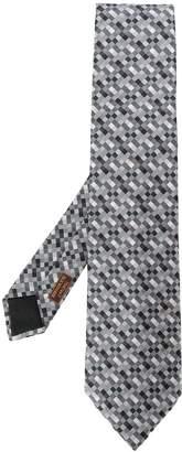 Hermes Pre-Owned 2000's geometric tie