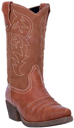 Dingo Women's Western Boots RUST - Rust Prairie Rose Leather Cowboy Boot - Women
