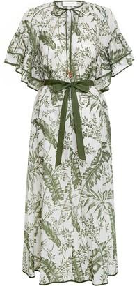 Zimmermann Empire Flutter Sleeve Dress