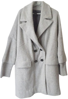Marc by Marc Jacobs Grey Wool Coat for Women