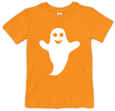 Urban Smalls Orange Happy Ghost Tee - Toddler & Boys