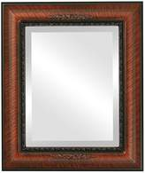 Oval And Round Mirrors OvalAndRoundMirrors.com Rectangle Beveled Mirror in a Boston style frame with outside dimensions