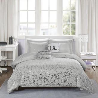 Intelligent Design Liv Metallic Comforter Set