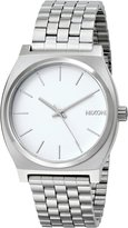 Nixon Men's A045-100 Stainless Steel Analog with Dial Watch