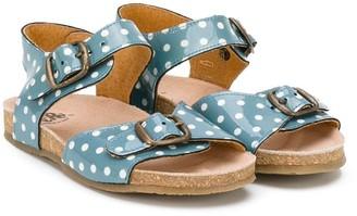 Pépé Polka-Dot Sandals
