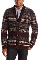 John Varvatos Men's Shawl Collar Cardigan Sweater