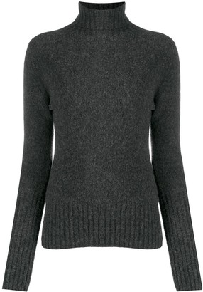 Drumohr Turtleneck Lambswool Jumper
