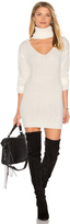 Reverse Cut It Out Sweater Dress