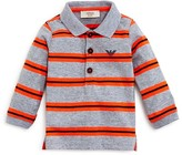 Armani Junior Armani Boys' Striped Jersey Polo Shirt - Sizes 12-36 Months