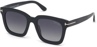 Tom Ford Square Polarized Acetate Sunglasses