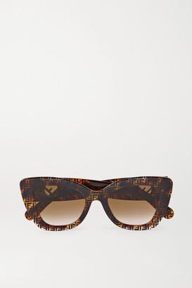 Fendi Cat-eye Tortoiseshell Acetate Sunglasses