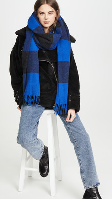 Rag & Bone Buffalo Plaid Scarf