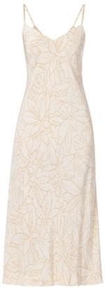Halston White Silk Dresses