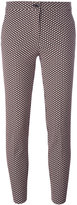 Etro jacquard cropped trousers - women - Cotton/Polyester/Spandex/Elastane/Polyimide - 42