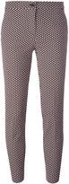 Etro jacquard cropped trousers - women - Cotton/Polyester/Spandex/Elastane/Polyimide - 44