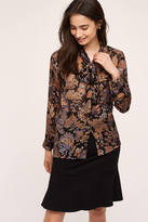 Mes Demoiselles Stemwood Silk Blouse