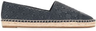 Tory Burch Diamond-Quilted Espadrilles