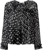 See by Chloe floral print blouse - women - Cotton/Polyester/Viscose - 34