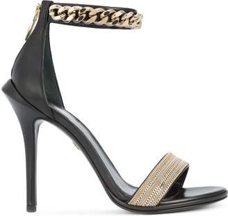 Roberto Cavalli ankle length sandals