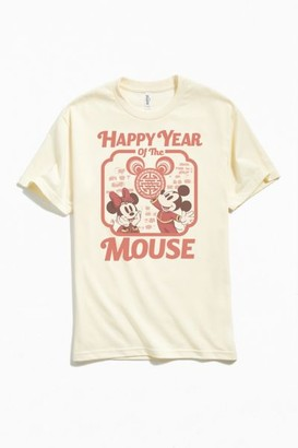Urban Outfitters Mickey And Minnie Year Of The Mouse Tee