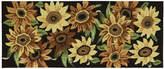Nourison Sunflower Utility Runner Rug
