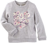 Osh Kosh Heathered French Terry Pullover