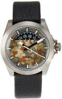 Diesel DZ1700 Silver-Tone & Black Watch