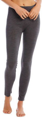 S.O.H.O New York Wool & Bamboo Thermal Legging in Charcoal