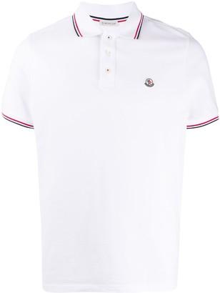 Moncler Logo-Applique Short-Sleeved Polo Shirt
