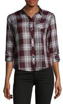 Lord & Taylor Plaid Cotton Button-Down Shirt