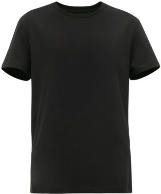 Wardrobe NYC Release 05 Round-neck Cotton-jersey T-shirt - Black
