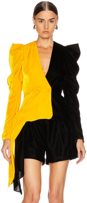 Hellessy Deneuve Jacket in Marigold & Black | FWRD