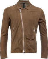 Giorgio Brato slim-fit biker jacket