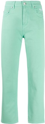MSGM slim cropped trousers