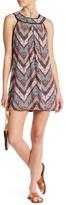 Trixxi High Neck Pom Pom Mini Dress