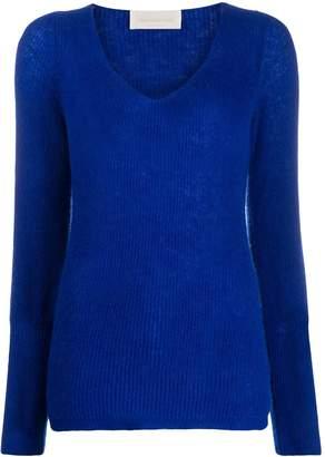 Chiara Bertani ribbed knit jumper