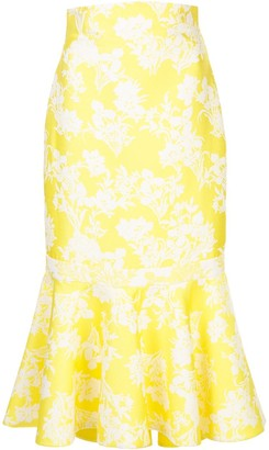 Alexis Floral Jacquard Skirt