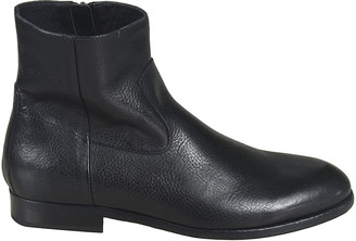 Buttero Side Zipped Ankle Boots