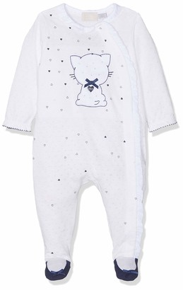 Chicco Baby Girls' Tutina con apertura frontale Playsuit