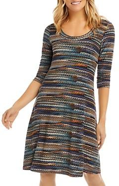 Karen Kane Chain Print Knit Dress